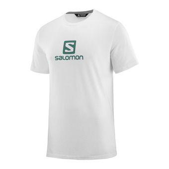 Salomon LOGO - Camiseta hombre white