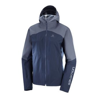 Salomon OUTLINE - Chaqueta mujer night sky/graphite
