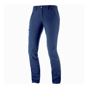 Salomon WAYFARER TAPERED - Pantalon Femme night sky