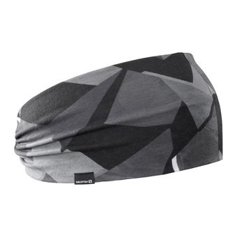 Salomon LIGHT - Headband black/quiet shad