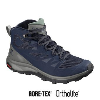 Salomon OUTLINE GTX - Zapatillas de senderismo hombre medieval b/castor