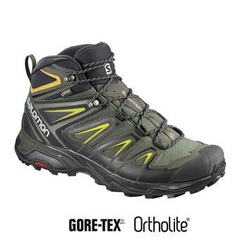 Chaussures randonnée homme X ULTRA 3 MID GTX® castor gra/bk