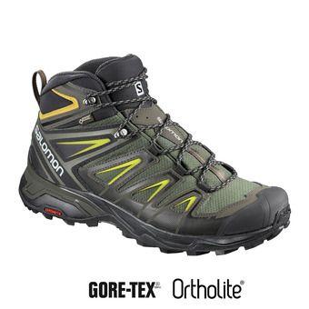 Zapatillas de senderismo hombre X ULTRA 3 MID GTX® castor gra/bk