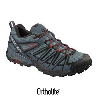 Salomon X ULTRA 3 PRIME - Chaussures randonnée Homme le/stormy wea/boss