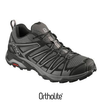 Salomon X ULTRA 3 PRIME - Chaussures randonnée Homme magnet/bk/monument