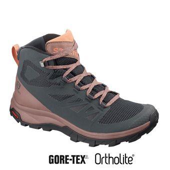 Chaussures randonnée femme OUTLINE MID GTX ebony/deep taup