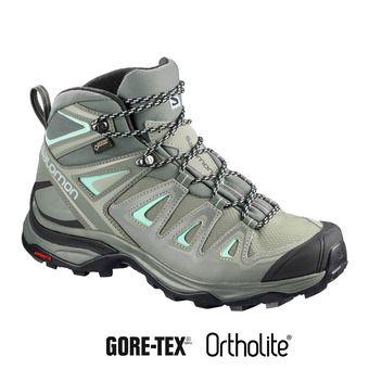 Zapatillas de senderismo mujer X ULTRA 3 MID GTX® shad/castor