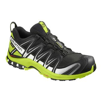 Trail Shoes - Men's - XA PRO 3D GTX® black/lime green/wh