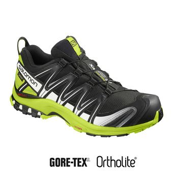 Salomon XA PRO 3D GTX - Chaussures trail Homme black/lime green/wh