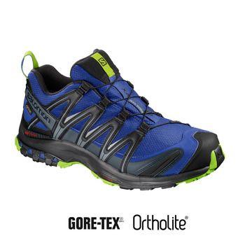 Chaussures trail homme XA PRO 3D GTX® maz blue/bk/lime gre