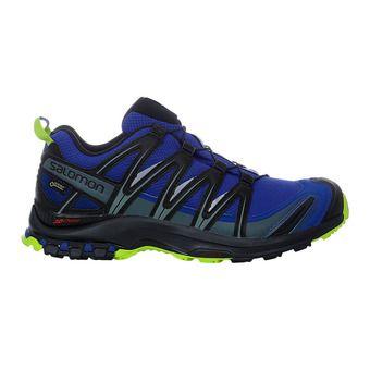 Salomon XA PRO 3D GTX - Chaussures trail Homme maz blue/bk/lime gre