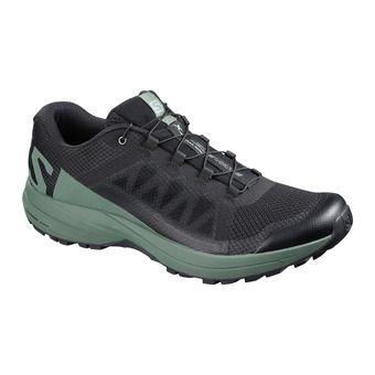 Salomon XA ELEVATE - Chaussures trail Homme black/balsam green/bk