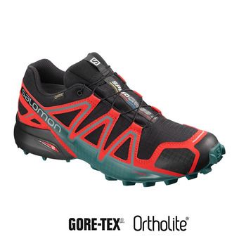Salomon SPEEDCROSS 4 GTX - Zapatillas de trail hombre bk/high risk/med