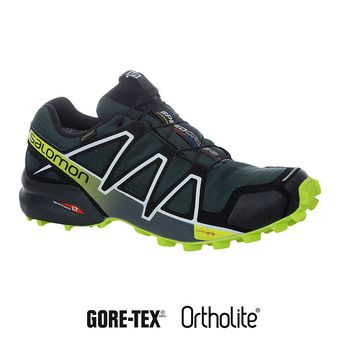 Salomon SPEEDCROSS 4 GTX - Chaussures trail Homme gtx darkest sp/bk/aci