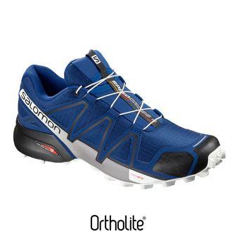 Salomon SPEEDCROSS 4 - Zapatillas de trail hombre maz blue/bk/wh