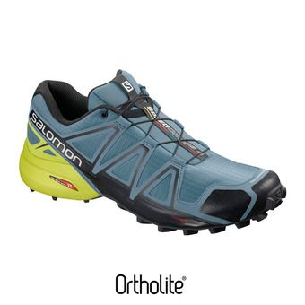 Salomon SPEEDCROSS 4 - Zapatillas de trail hombre bluestone/bk/sulphur