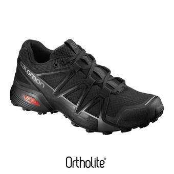 Salomon SPEEDCROSS VARIO 2 - Chaussures trail Homme black/black/si