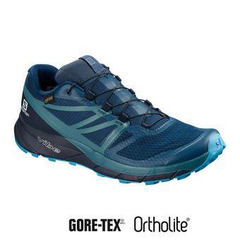 Trail Shoes - Men's - SENSE RIDE 2 GTX® INVISIBLE FIT poseidon