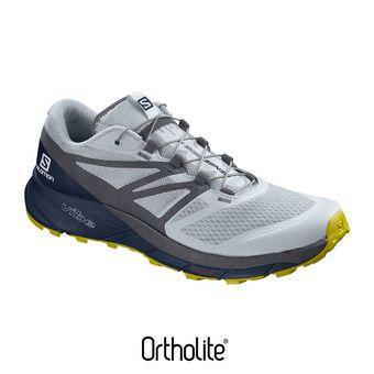 Salomon SENSE RIDE 2 - Chaussures trail Homme b/navy blaze