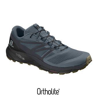Salomon SENSE RIDE 2 - Chaussures trail Homme wea/ebony/bk