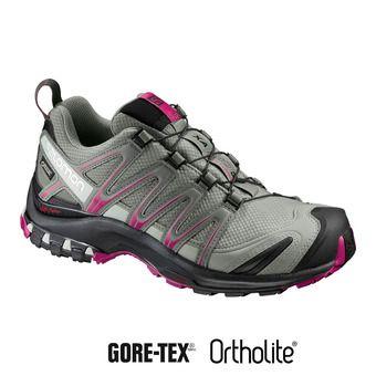 Salomon XA PRO 3D GTX - Zapatillas de trail mujer shadow/bk/sangria