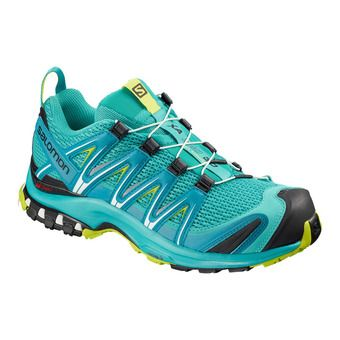 Salomon XA PRO 3D - Trail Shoes - Women's - blubrd/caneel bay/acid