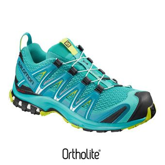 Salomon XA PRO 3D - Chaussures trail Femme bluebird/caneel bay/acid lime