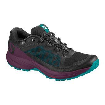 Salomon XA ELEVATE GTX - Trail Shoes - Women's - bk/potent pur/tro