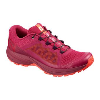 Salomon XA ELEVATE - Zapatillas de trail mujer cerise/beet red/coral