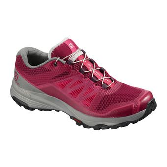 Salomon XA DISCOVERY - Chaussures trail Femme beet red/monument