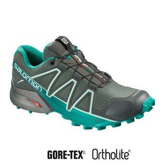 Salomon SPEEDCROSS 4 GTX - Zapatillas de trail mujer balsam gr/tropi