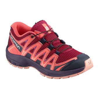 Salomon XA PRO 3D - Trail Shoes - Junior cerise/dubarry/peach amber