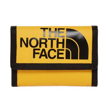 Portefeuilles BASE CAMP tnf yellow/tnf black