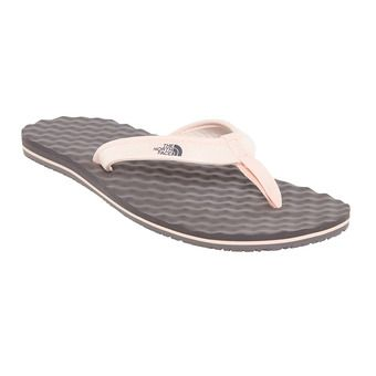 The North Face BASE CAMP MINI - Flip Flops - Women's - rabbit grey/pink salt