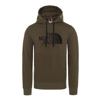 Sweat à capuche homme DREW PEAK new taupe green
