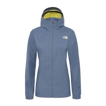 Chaqueta mujer QUEST grisaille grey/exotic grn