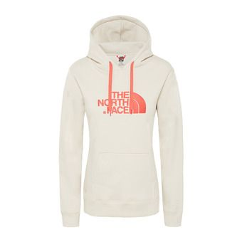 The North Face DREW PEAK - Sudadera mujer vintage white/spiced coral
