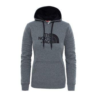 The North Face DREW PEAK - Sudadera mujer medium grey/vintage white