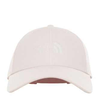 The North Face 66 CLASSIC - Gorra pink salt/tnf white