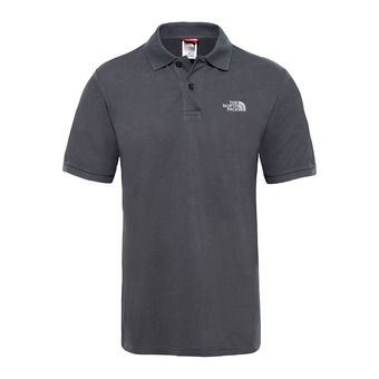The North Face PIQUET - Polo - Men's - asphalt grey