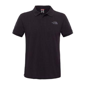 The North Face PIQUET - Polo - Men's - tnf black