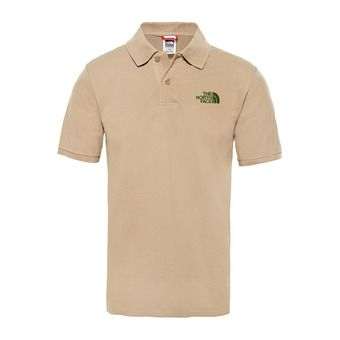 The North Face PIQUET - Polo - Men's - kelp tan