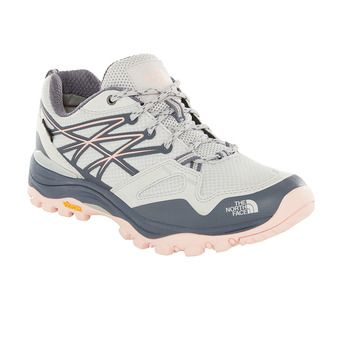 The North Face HEDGEHOG FASTPACK GTX - Chaussures randonnée Femme meld grey/pink salt