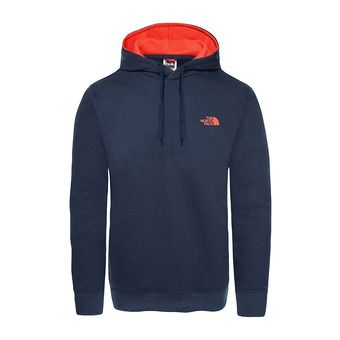 The North Face DREW PEAK PO LT - Sudadera hombre urban navy/fiery red