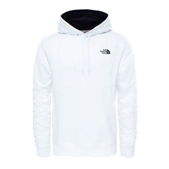 The North Face DREW PEAK PO LT - Sudadera hombre tnf white