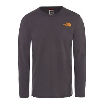 The North Face EASY - Camiseta hombre asphalt gry/citrine yellw