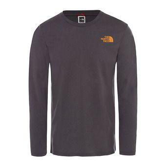 The North Face EASY - Tee-shirt Homme asphalt gry/citrine yellw