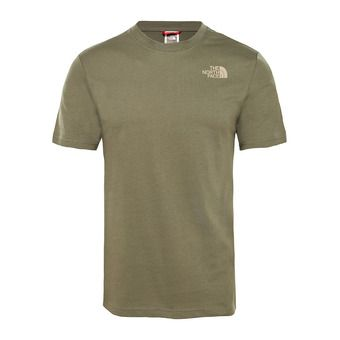 M S/S RED BOX TEE Homme NEW TAUPE GREEN/KELP TAN