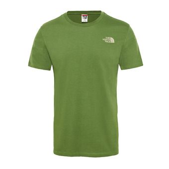 The North Face SIMPLE DOME - T-shirt Uomo garden green