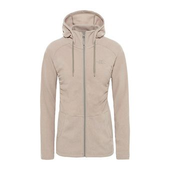 The North Face MEZZALUNA - Polaire Femme pink salt stripe